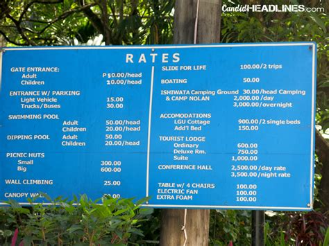 Resort Room Rates by Travel Files Mambukal Resort In Murcia Negros Occidental