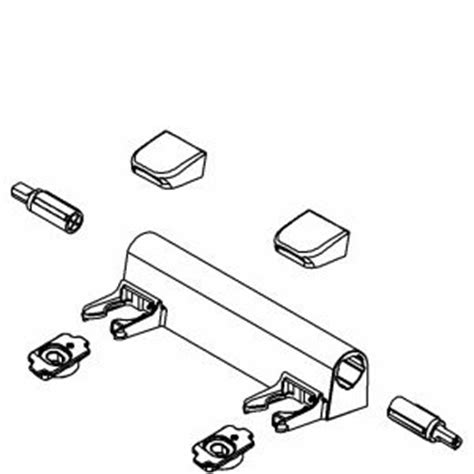 kohler toilet seat hinge parts buy kohler 1100507 0 replacement seat hinge cover white in