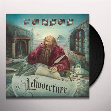 Kansas Records Kansas Leftoverture Vinyl Record