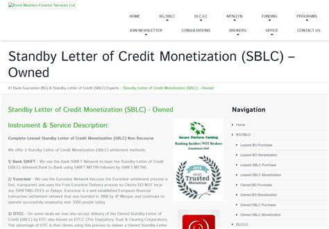 Letter Of Credit Guarantee Scheme standby letter of credit financial guarantee docoments
