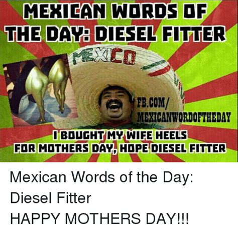 Happy Mothers Day Funny Meme - 25 best memes about mexican word of the day and mother s