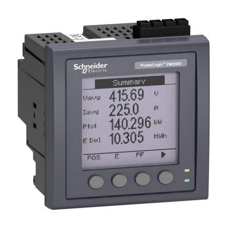 Power Meter Schneider Metsepm 2210 Schneider metsepm5561 schneider electric pm5000 lcd digital power meter 3 phase schneider electric