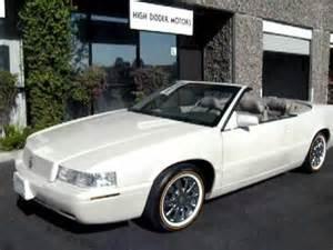 2003 Cadillac Eldorado For Sale U0934 02 Cadillac Eldorado Conv 3