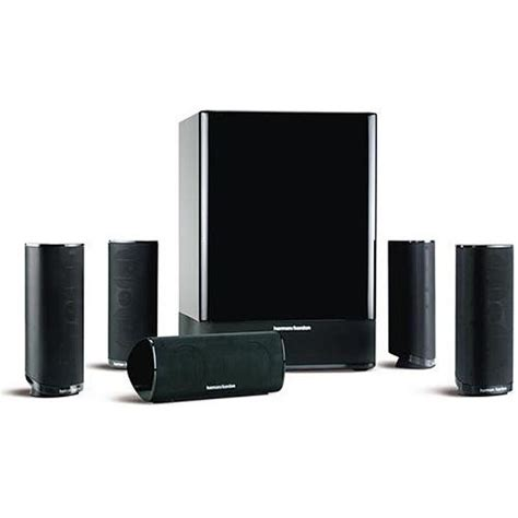 harman kardon hkts 18 home theater speaker system black hkts