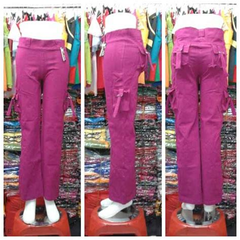 Celana Panjang Wanita Jumbo Big Size Katun celana senam panjang murah ukuran murah baju senam