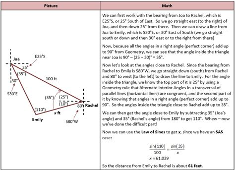 Trig Word Problems Worksheet by Math Worksheets Trigonometry Calculating Angle And Side
