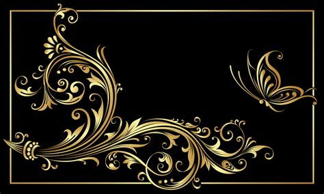 gold and black black and gold wallpaper 38 desktop wallpaper