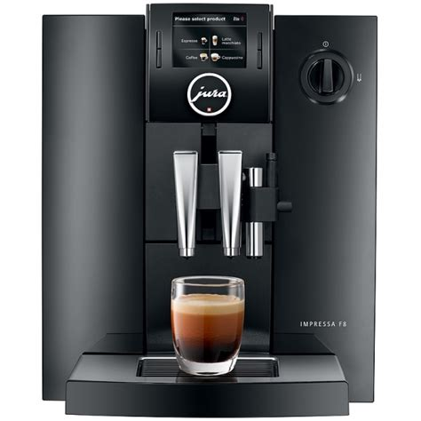 Jura Impressa F8 TFT bean to cup machine from authorised