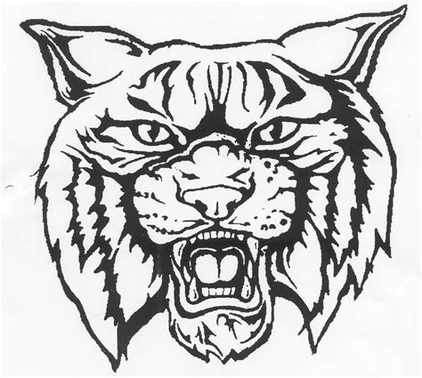 kentucky wildcats logo coloring pages sketch coloring page
