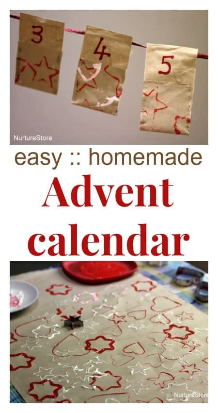 printable homemade advent calendar easy homemade advent calendar nurturestore