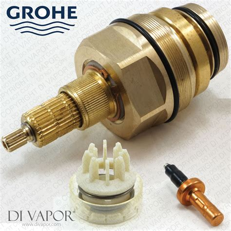 grohe shower valve ebay grohe 47598000 thermostatic cartridge with piston and wax