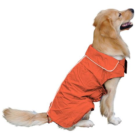 raincoat for dogs raincoat clothing for dogs poncho pet clothes outdoor slicker waterproof