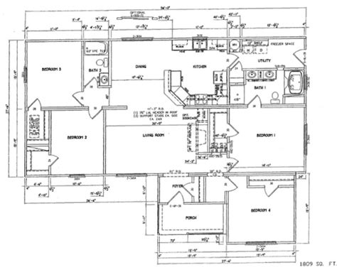 4 bedroom modular home floor plans beautiful 4 bedroom modular home plans 6 4 bedroom