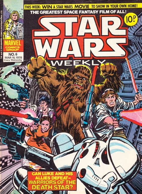 news current events magazines comic world star wars weekly 6 star wars in the uk starwars com