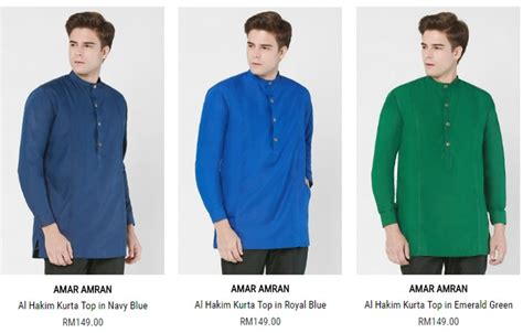 Baju Kurung Lelaki Jakel baju melayu lelaki moden yang murah dan terkini