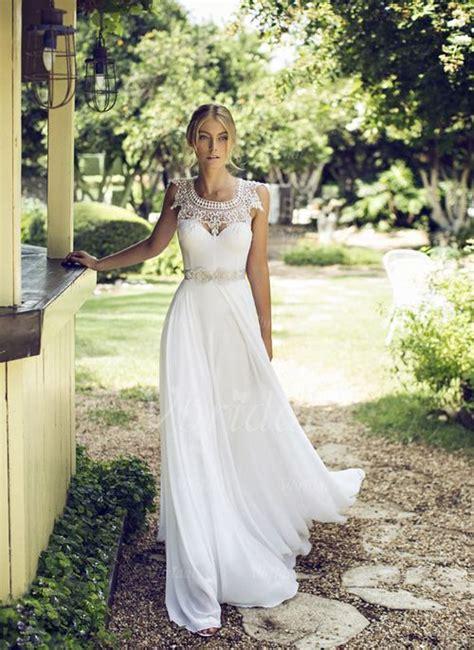 Brautkleider Mit Spitze by Die Besten 17 Ideen Zu Chiffon Hochzeitskleid Auf