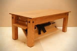 Fingerprint Gun Safe Nightstand Coffee Table With Hidden Gun Storage Quotes