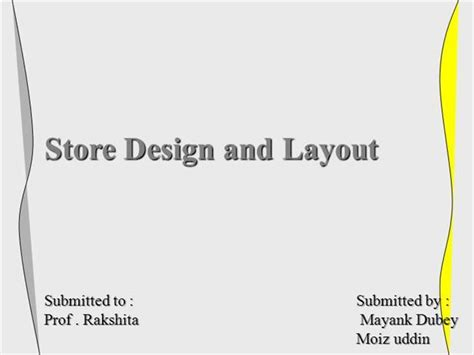 layout supermarket ppt 15654700 store layout and design mgt authorstream