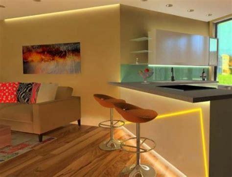 ladario moderno cucina due a illuminazione luce led e sicurezza