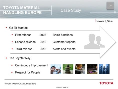 toyota corporate website is delivering value to the business by hakan borglund