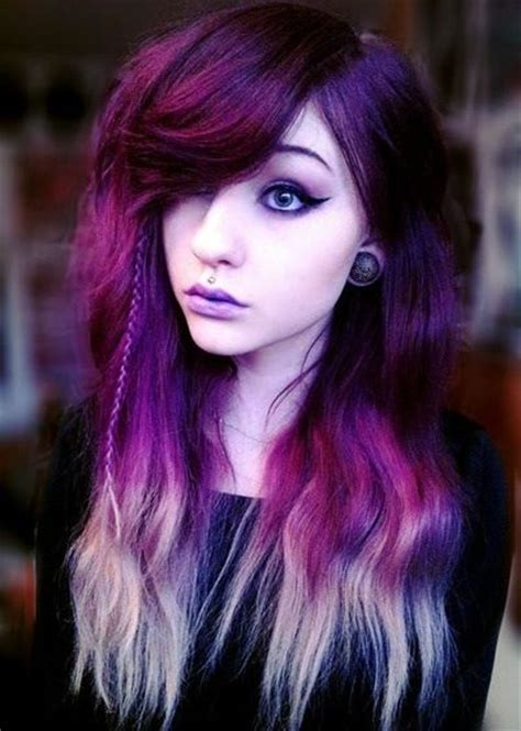 girl hairstyles purple purple hairstyles these 50 cute purple shade hairstyles
