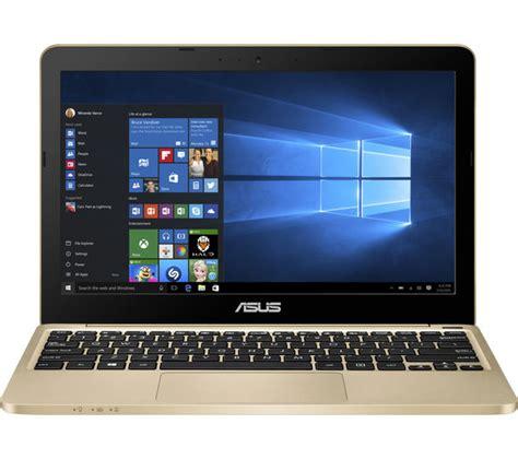 Asus Laptop Black And Gold asus e200ha 11 6 quot laptop gold deals pc world