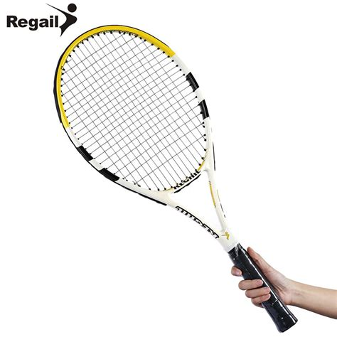 Raket Carbon 竄ェcarbon aluminum alloy tennis 竓ア racket racket durable tennis racket 牆ァ齦 齡牆ィ yellow yellow aluminum