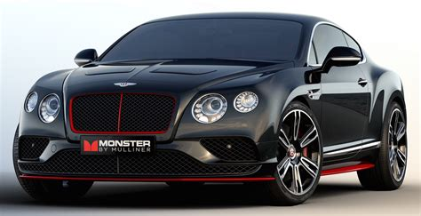 bentley motorcycle 2016 bentley continental gt monster by mulliner monster