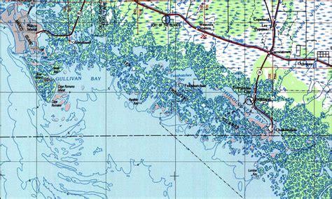 map of ten thousand islands florida ten thousand islands florida 1988