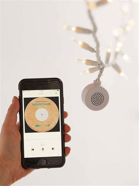 bluetooth speaker string lights the string light boasts integrated bluetooth speaker