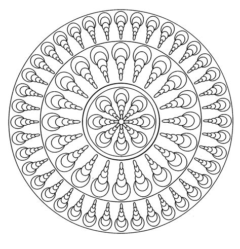 simple mandala coloring pages pdf simple mandala 4 simple mandalas 100 mandalas zen