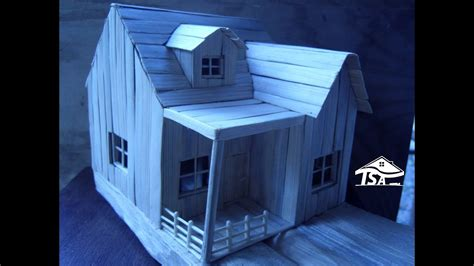 make a home how to make a wooden model house youtube