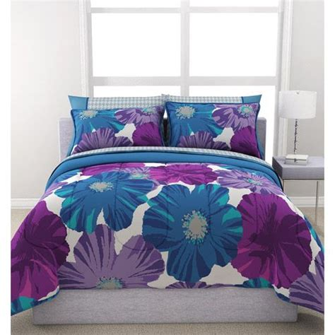 walmart girl bedding sets formula giant floral reversible bed in a bag bedding set