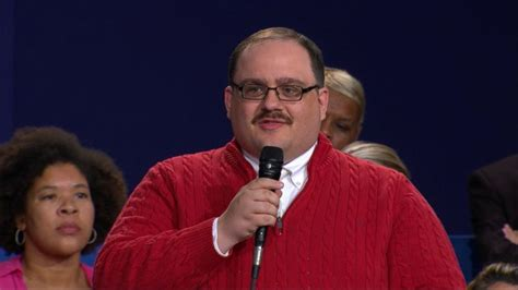 Ken Sweater ken bone s sweater captivates s attention at