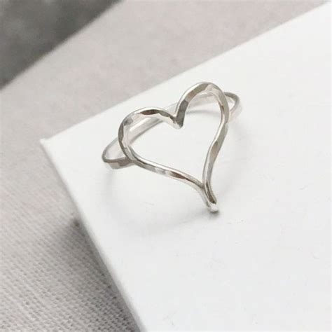 Handmade Silver Rings Uk - handmade silver rings uk unique contemporary rings
