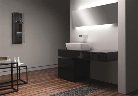 Modern White Glass Bathroom Vanities Ideas 15