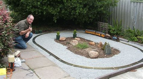 Laying Gravel In Backyard Letters To The Editor 2007 Family Garden Trains