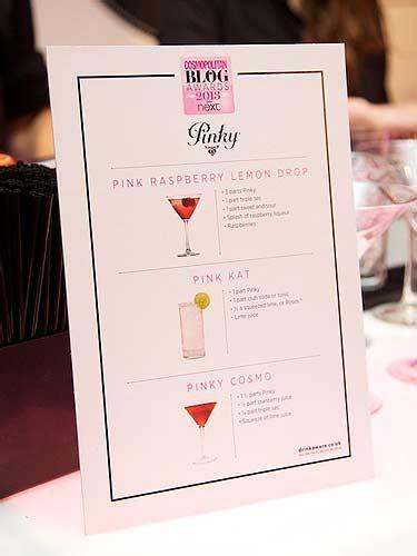 pinky vodka cocktail menu wwwspiritedgiftscom