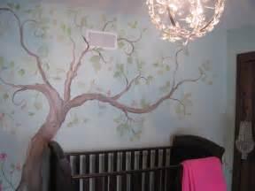 Cherry Blossom Baby Bedding Estimate For Tree Mural Nursery Art Hand Painted Custom