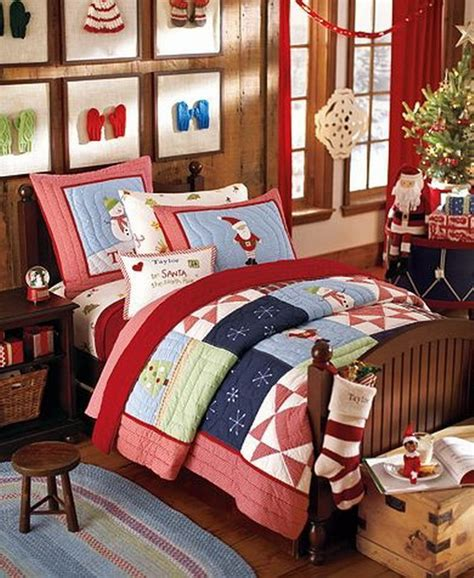 christmas bedrooms cute kids room decoration inspirations for the upcoming