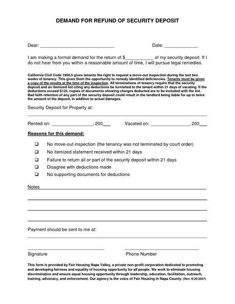 Rent Deduction Letter Best Photos Of Security Deposit Settlement Letter Security Deposit Refund Letter Sle