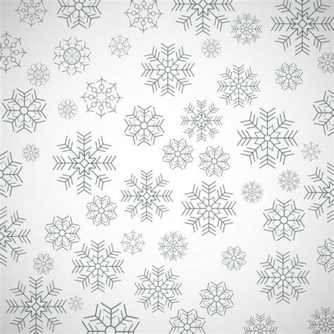 snowflake motif pattern simple pattern with snowflakes vector free download