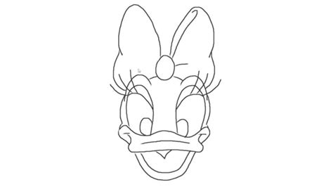 how to draw a daisy duck on a minute hd youtube