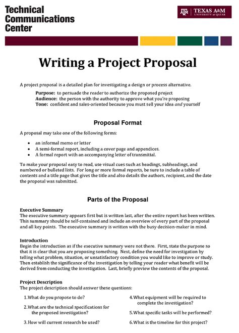 design a proposal writing a proposal