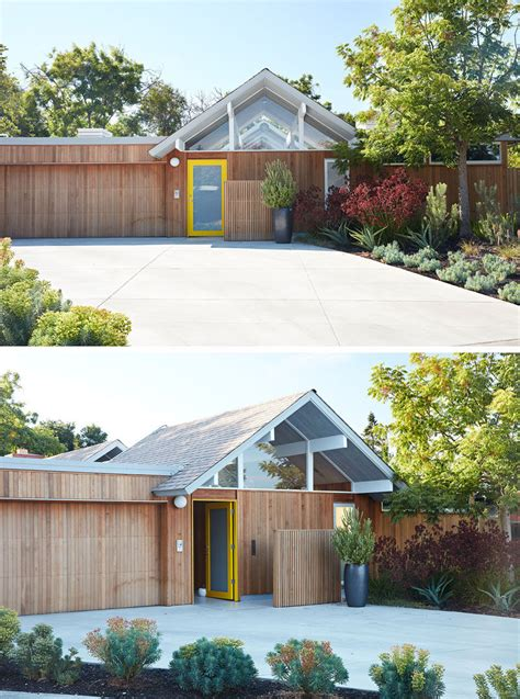 remodeled eichler home in california this mid century modern eichler house in california got a