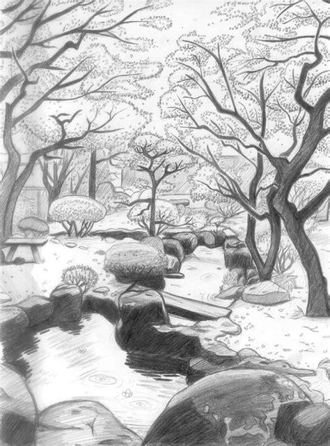 japanischer garten zeichnung landscaping japanese garden by fatalist555 on deviantart
