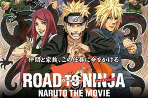 film on the road adalah penonton pertama film quot naruto quot akan dapat bonus antara news