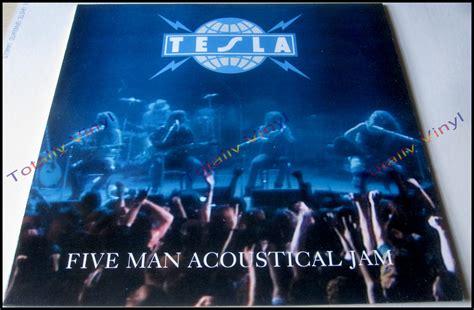 tesla five acoustical jam totally vinyl records tesla five acoustical jam lp