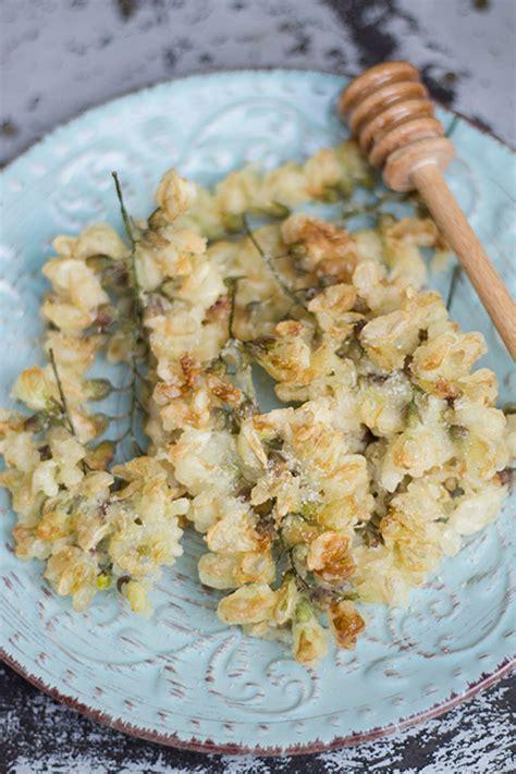 ricette con fiori di acacia frittelle con fiori di acacia in cucina con me