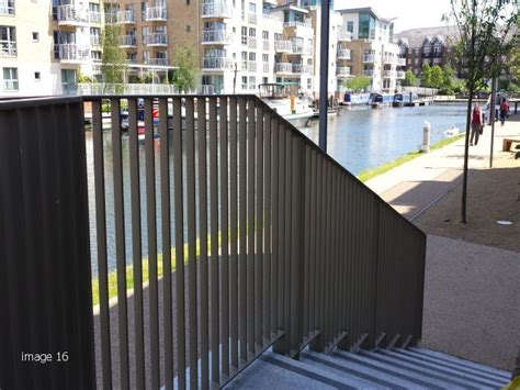 Decorative Panels by Flat Infill Bar Railings Blade Railings Flat Infill